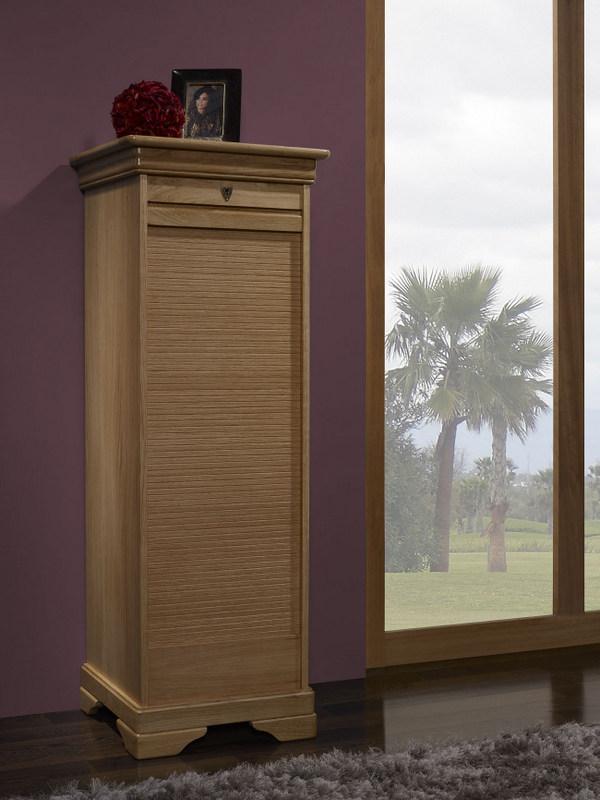 meuble classeur bois massif table de lit. Black Bedroom Furniture Sets. Home Design Ideas