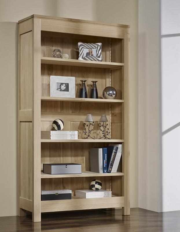 Bibliotheque bois massif - Cdiscount.com
