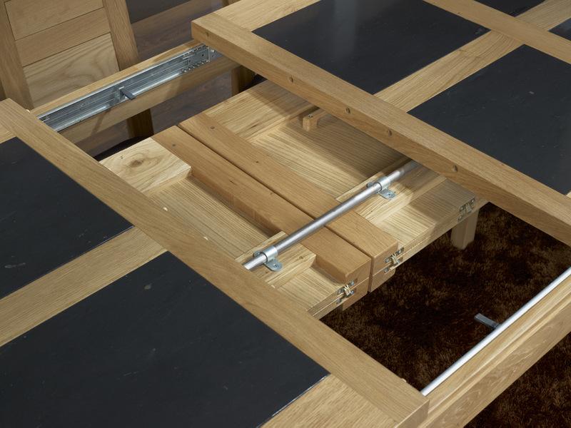Table de repas rectangulaire X Mathis realisee en chene Ligne ...