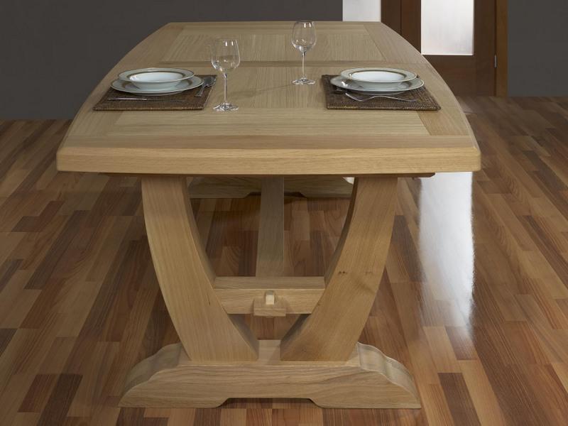 table bois monastere. Black Bedroom Furniture Sets. Home Design Ideas