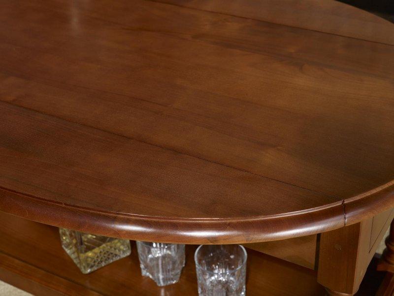 Table Volets En De Basse Louis Ovale À Merisier Style Zoé Massif tQorCBshdx