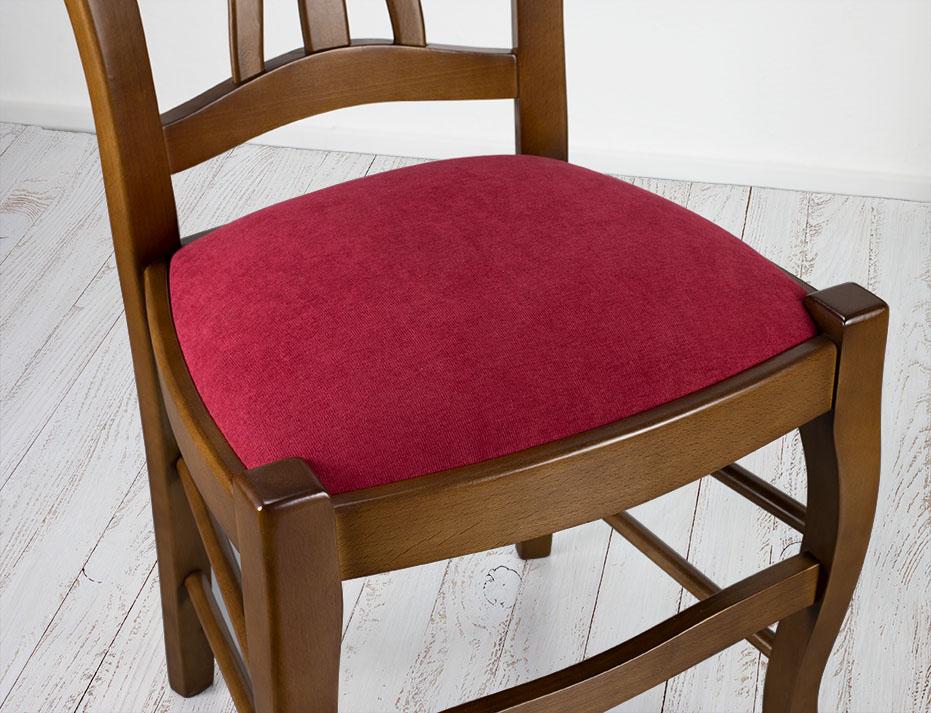Assise Tissu Louis Chaise De Hêtre Camille Philippe Massif Style En 7bvYgyf6