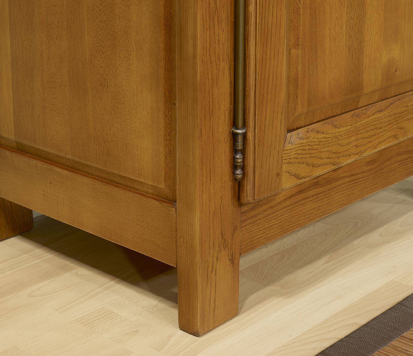 confiturier 1 porte 1 tiroir en ch ne massif de style campagnard 1 seul disponible finition. Black Bedroom Furniture Sets. Home Design Ideas