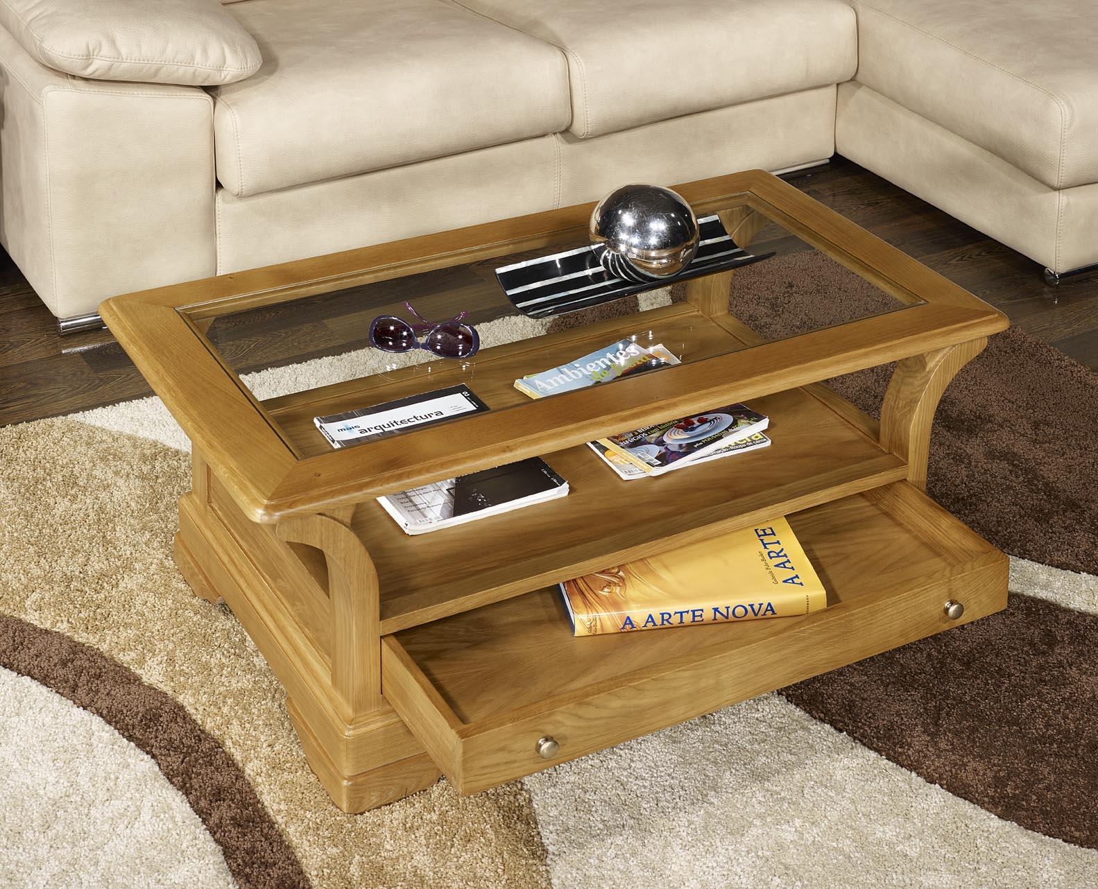 table basse raphael en ch ne massif de style louis philippe meuble en ch ne massif. Black Bedroom Furniture Sets. Home Design Ideas