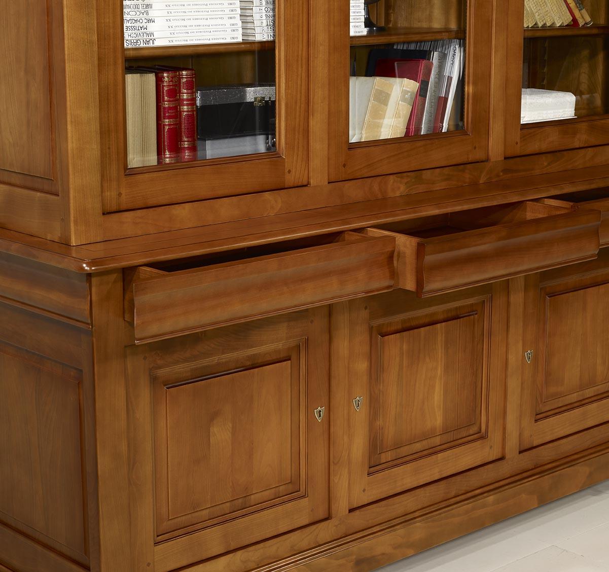 Meuble merisier moderne amazing meuble merisier moderne for Meuble merisier