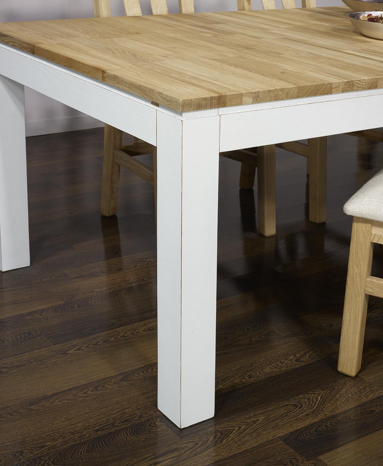 table de repas rectangulaire alexandre 200x100 en ch ne ligne contemporaine version ecologique. Black Bedroom Furniture Sets. Home Design Ideas