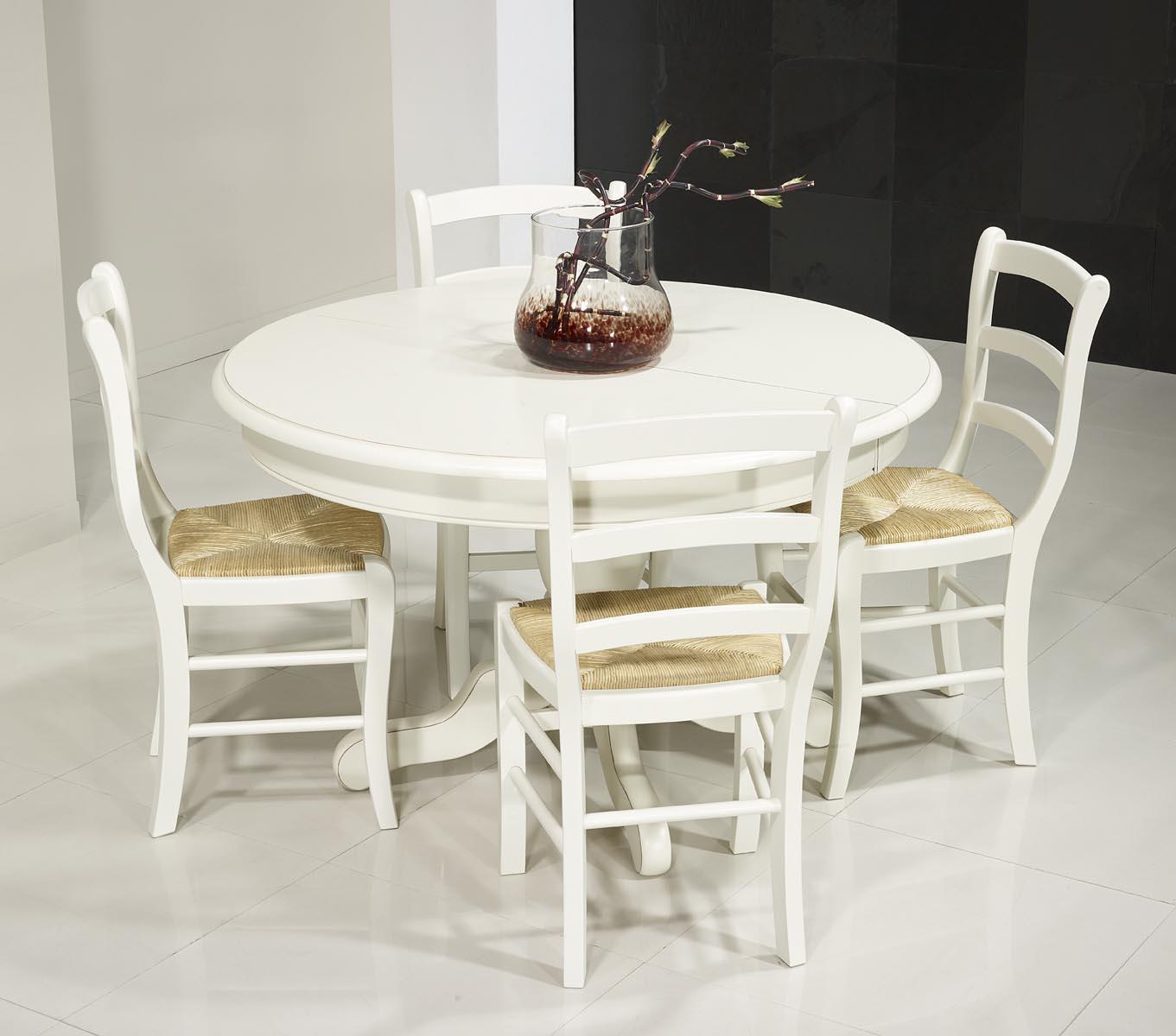 Table ronde pied central en merisier massif de style louis philippe diametre - Pied de table 120 cm ...