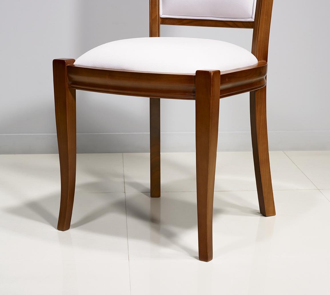 Chaise ine en merisier massif de style louis philippe for Chaise louis philippe ancienne