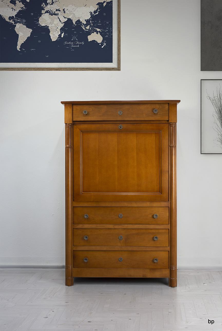 meuble secr taire elise en merisier de style empire bonne affaire 1 disponible meuble en. Black Bedroom Furniture Sets. Home Design Ideas