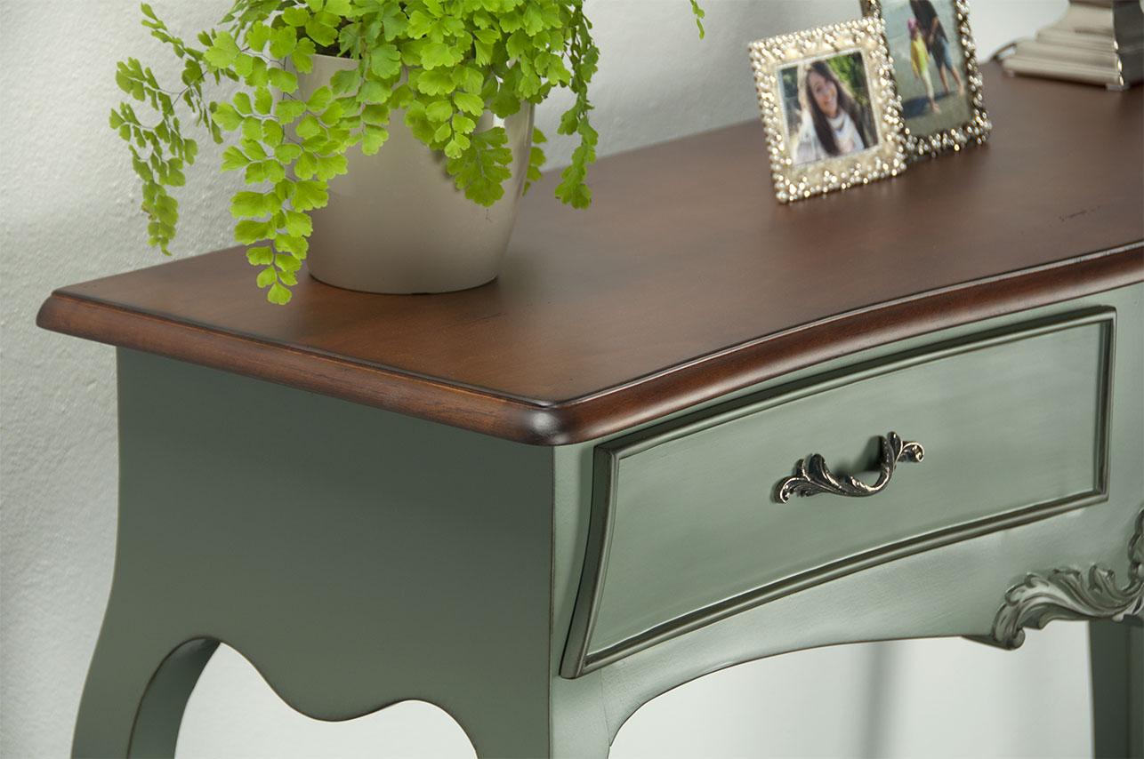 console anne luce en merisier de style louis xv bonne affaire 1 disponible meuble en merisier. Black Bedroom Furniture Sets. Home Design Ideas