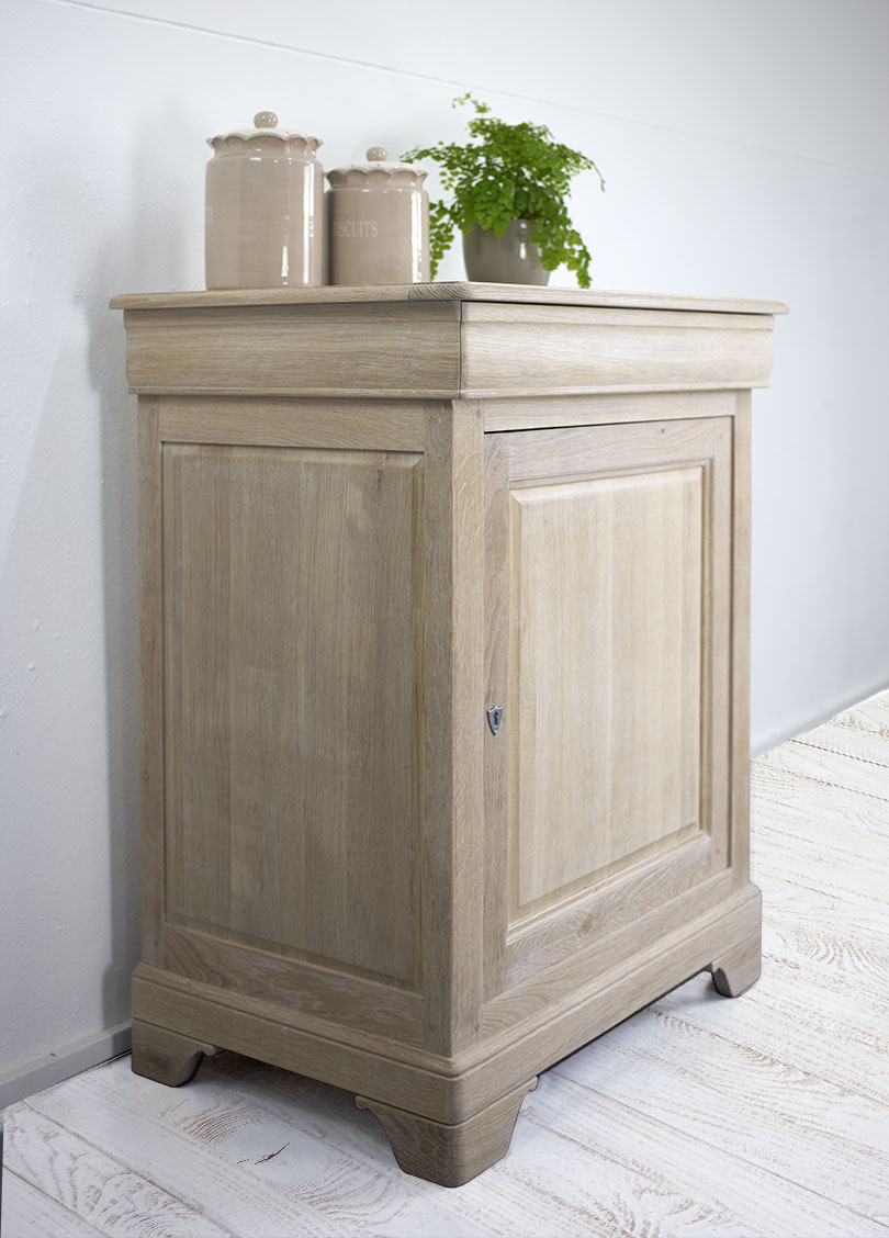 Confiturier en ch ne massif de style louis philippe meuble en ch ne massif - Meuble confiturier ...