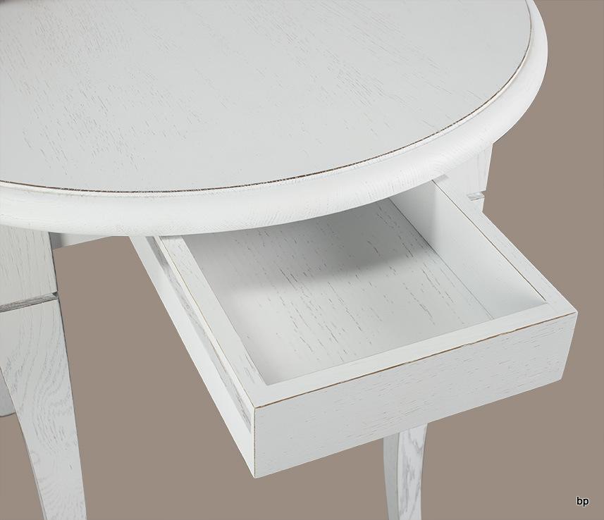 table ronde diam tre 80 en ch ne massif de style louis filippe meuble en ch ne massif. Black Bedroom Furniture Sets. Home Design Ideas