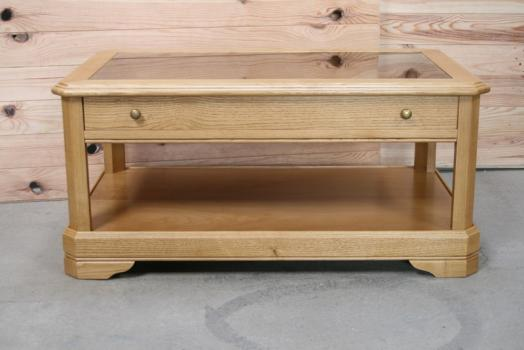 Table basse jade en ch ne de style louis philippe meuble - Table basse de style ...