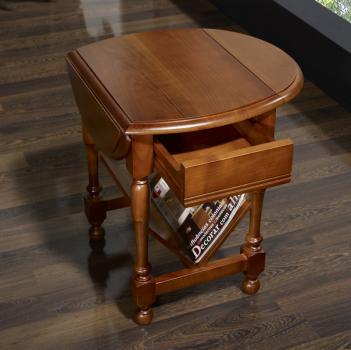 table basse ou bout de canap louise en merisier massif de. Black Bedroom Furniture Sets. Home Design Ideas