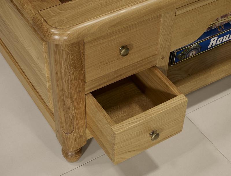 Table basse Jeu déchec en Chêne et Noyer de style Louis Philippe , meubl
