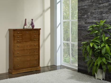 meuble chaussures en merisier de style louis philippe meuble en merisier massif. Black Bedroom Furniture Sets. Home Design Ideas