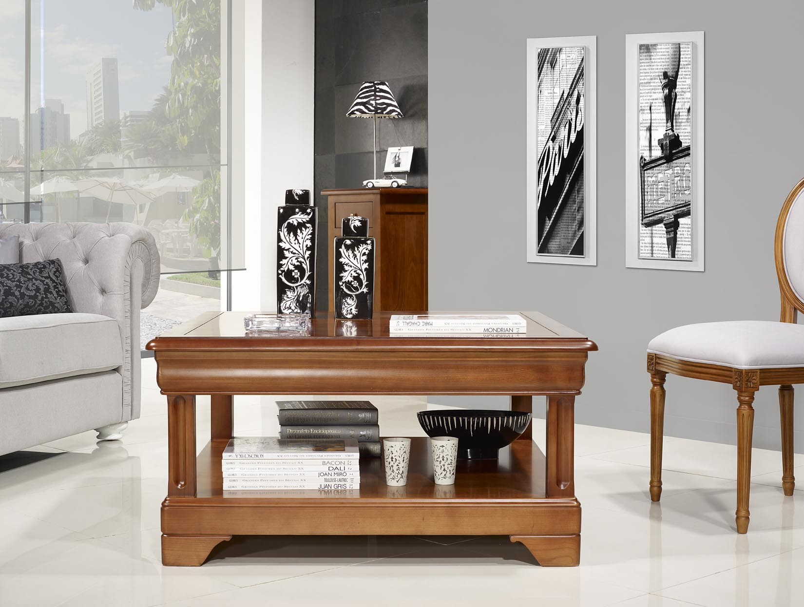 table basse carree en merisier. Black Bedroom Furniture Sets. Home Design Ideas