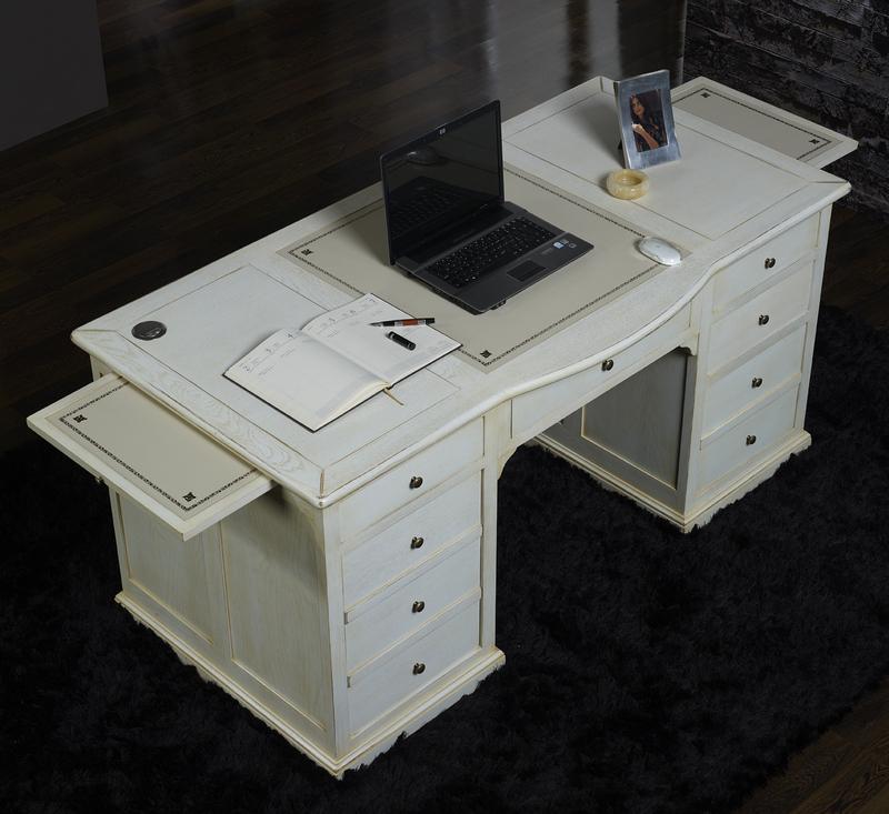 bureau ministre simon en ch ne de style louis philippe. Black Bedroom Furniture Sets. Home Design Ideas